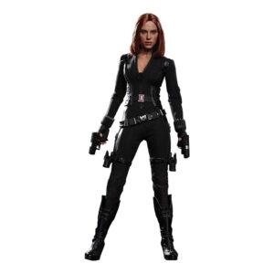 Muñeco de Black Widow Hot Toys Civil War