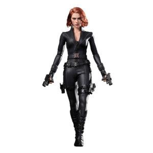 Muñeco de Black Widow Hot Toys Movie Masterpiece