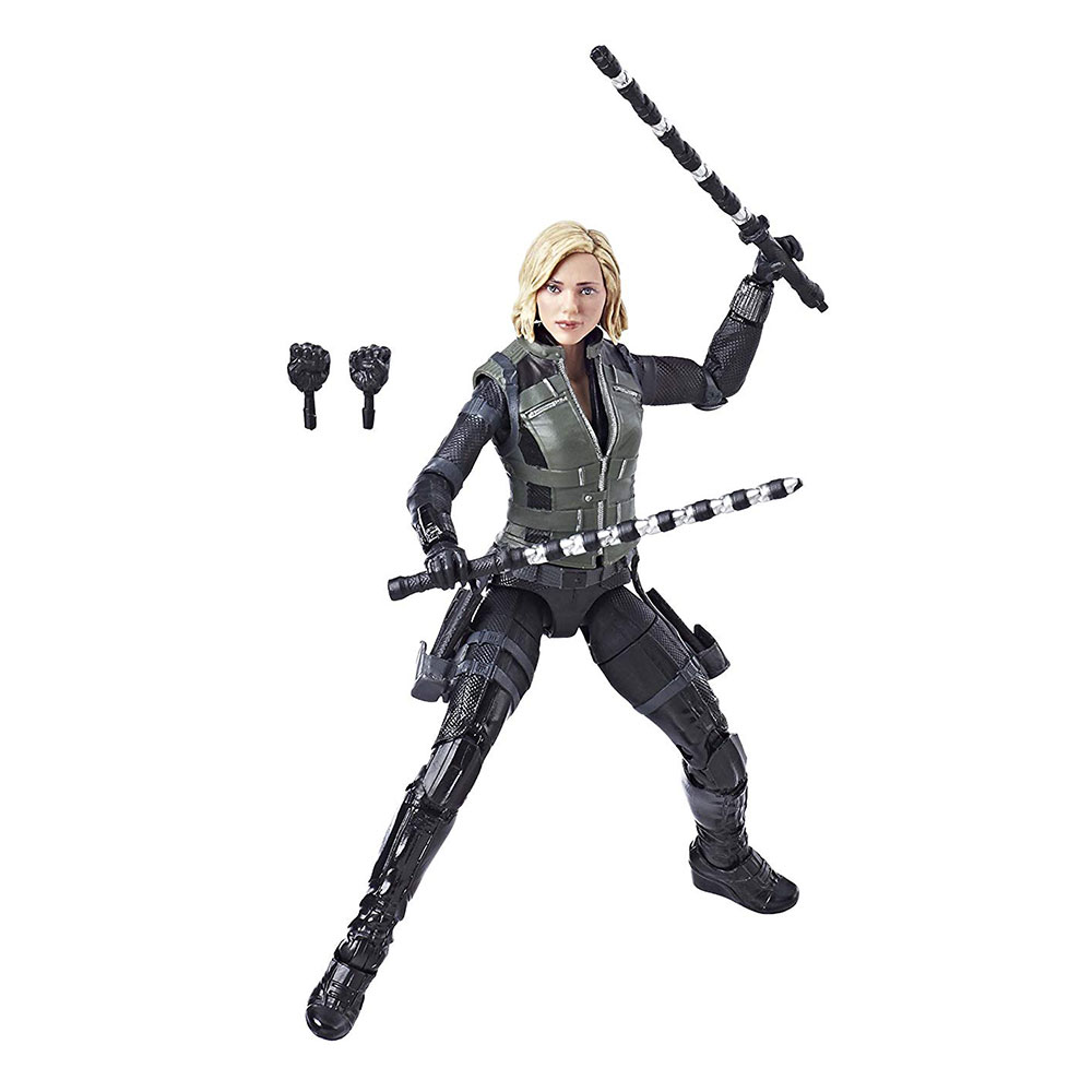 Muñeco de Black Widow Viuda Negra Infinity War Marvel Legends