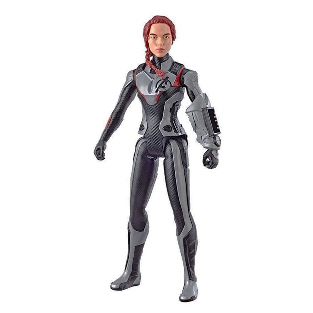 Muñeco Black Widow Viuda Negra Titan Hero Avengers Endgame