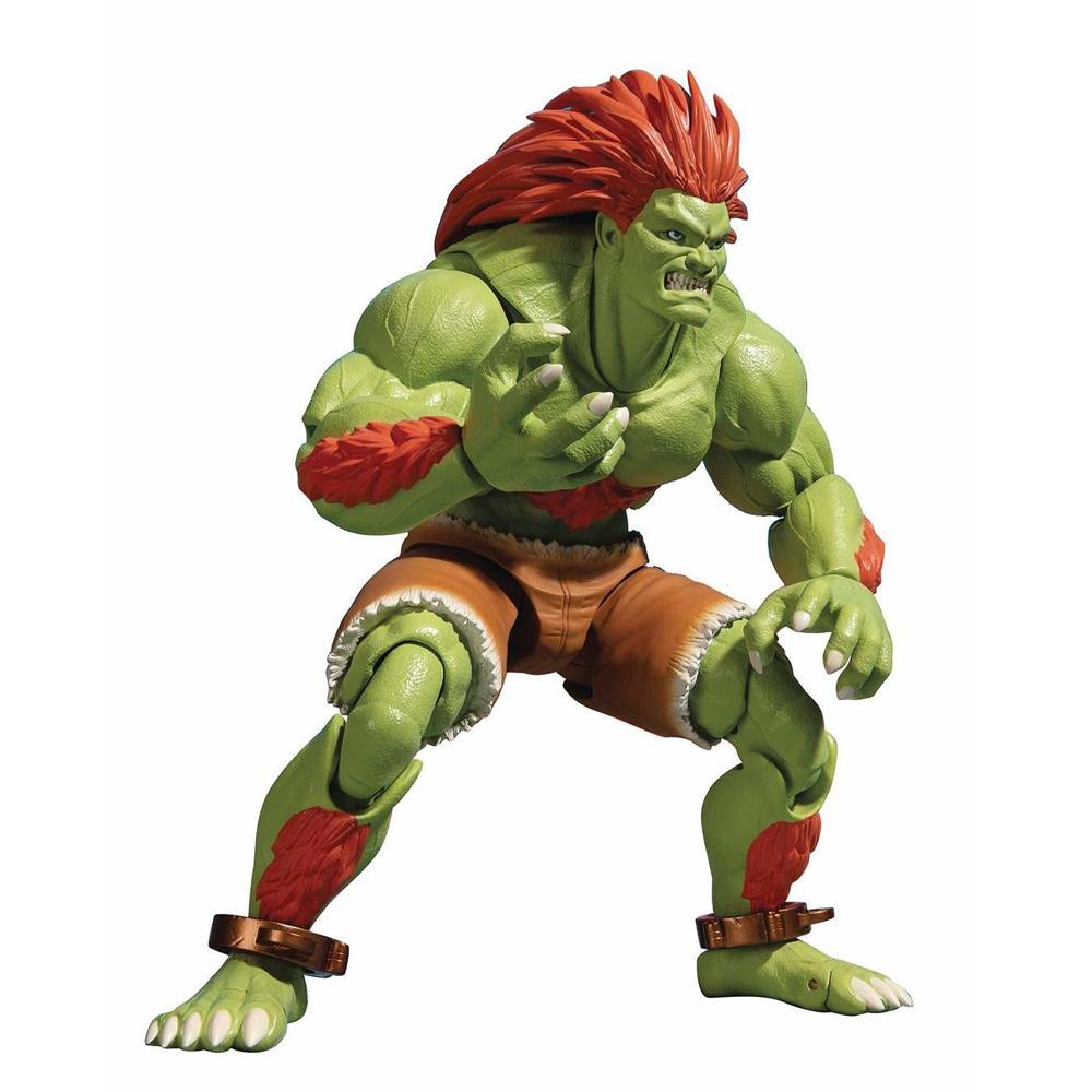 Muñeco de Blanka Street Fighter S.H. Figuarts Bandai