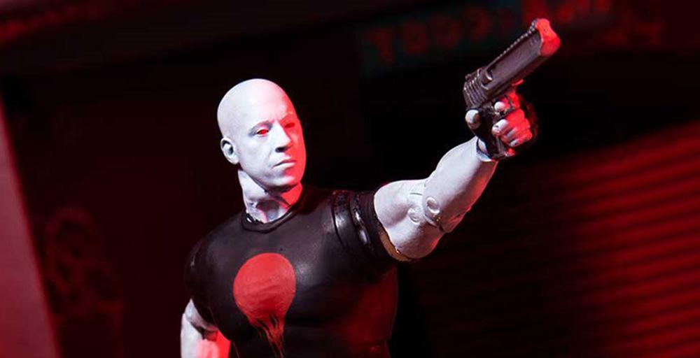 Muñeco de Bloodshot de McFarlane Toys