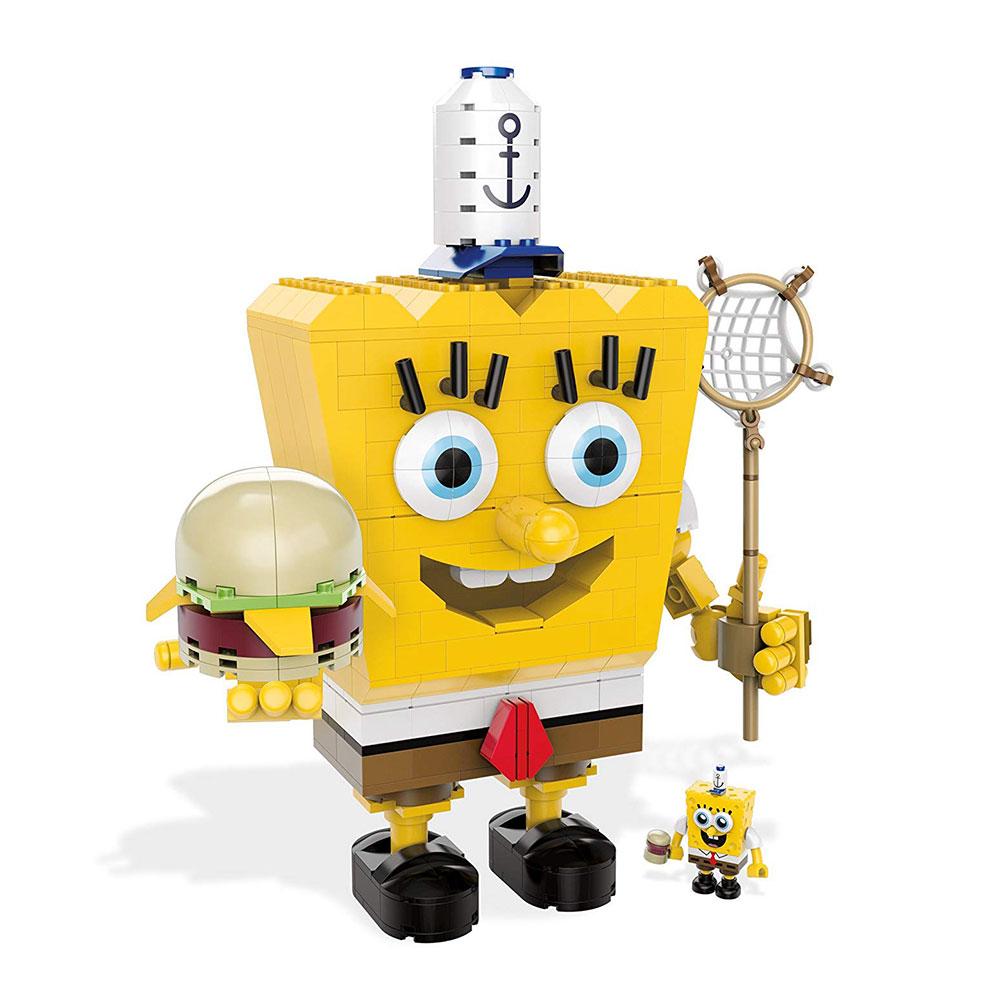 Muñeco de Bob Esponja Mega Bloks