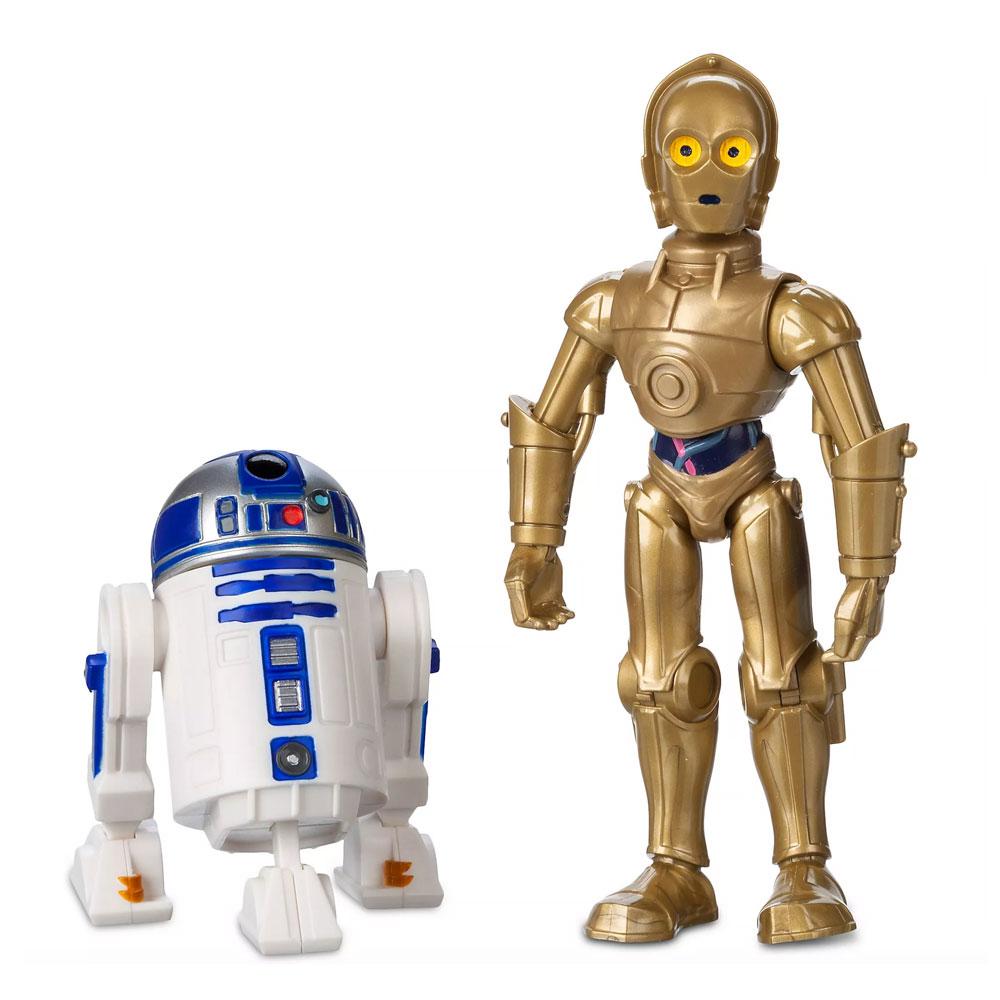 Muñecos de C-3PO y R2-D2 Star Wars Toybox