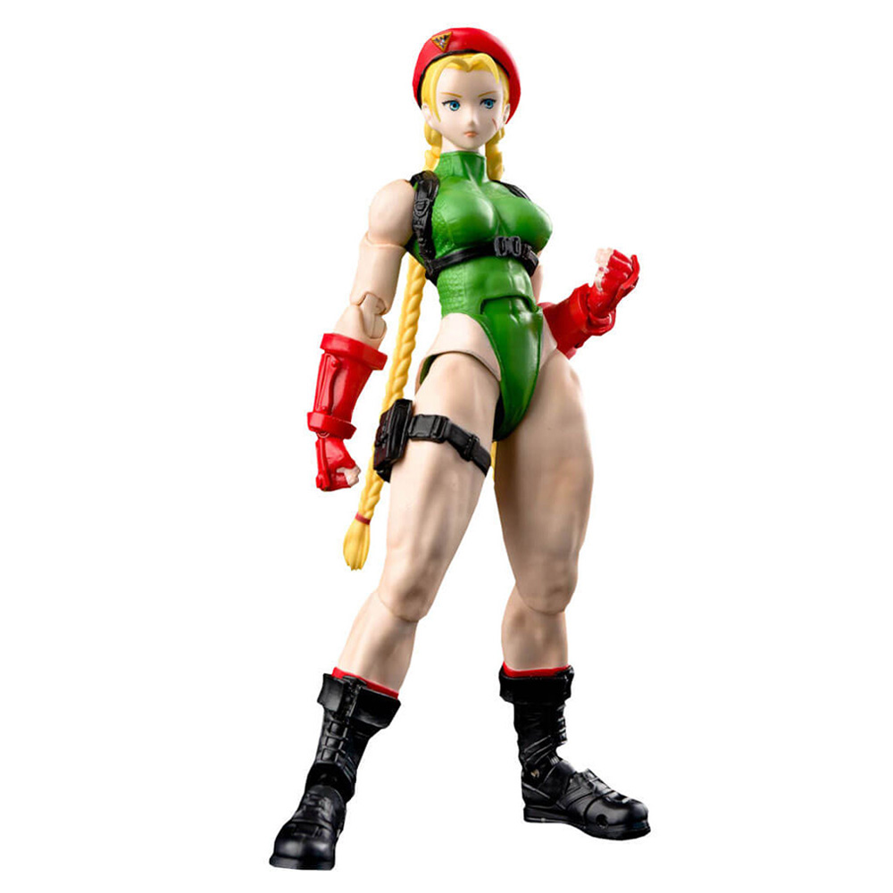 Muñeco de Cammy Street Fighter S.H. Figuarts Bandai