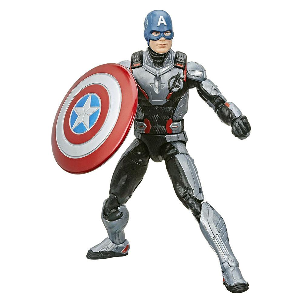 Muñeco del Capitán America Legends Avengers Endgame