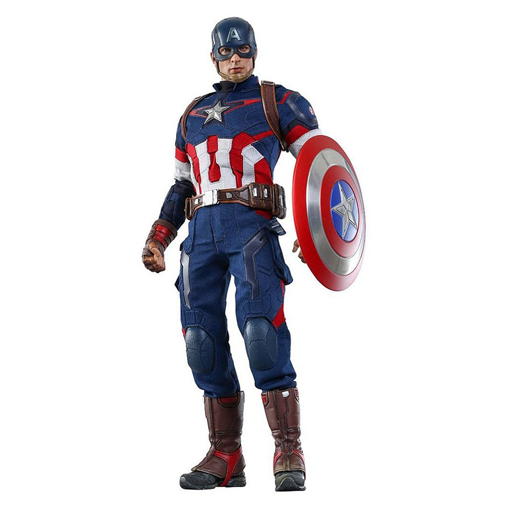 Muñeco del Capitán América Hot Toys Sideshow