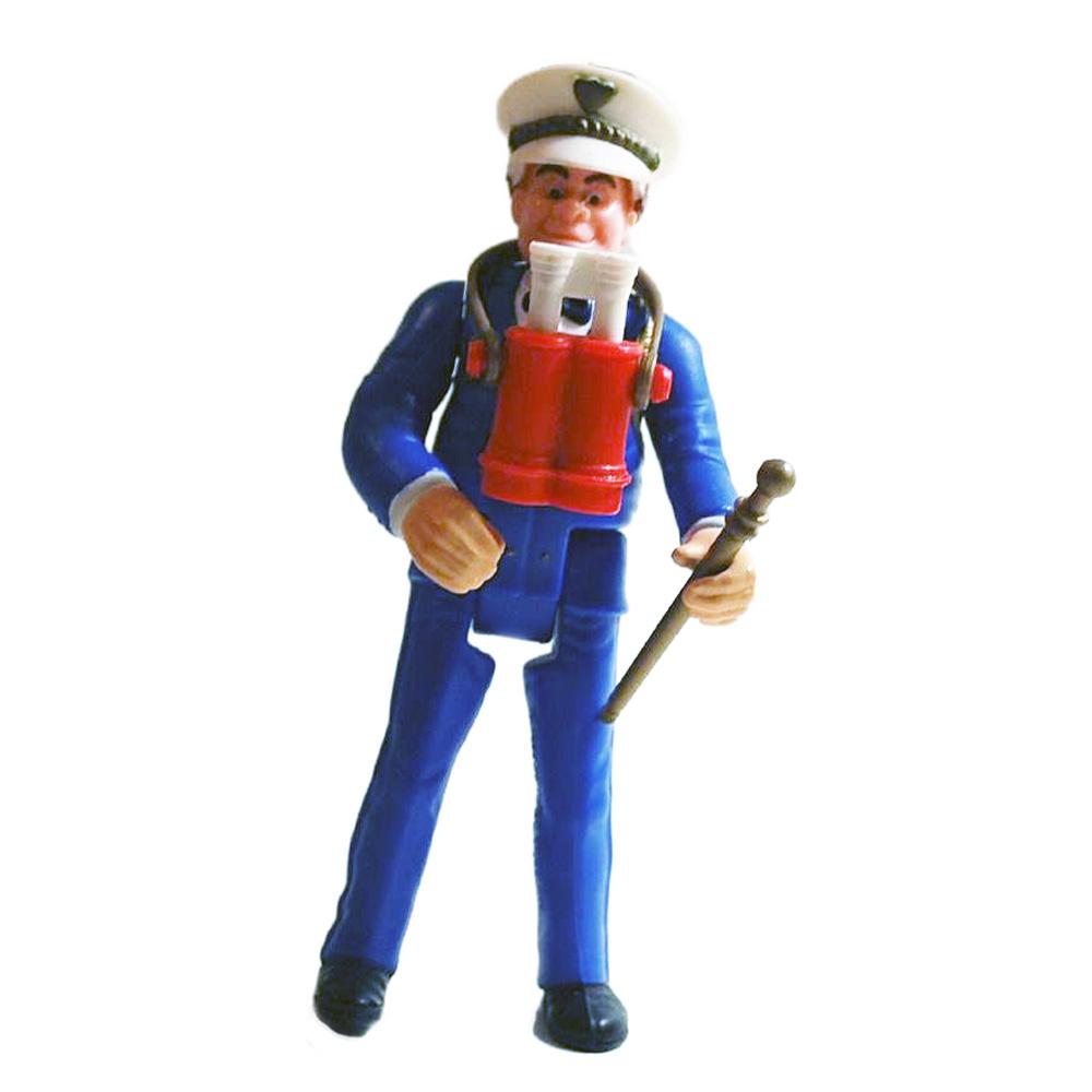 Muñeco Captain Harris Locademia de Policía