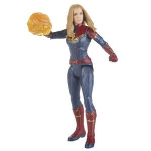 Muñeco de Captain Marvel de Marvel Avengers Hasbro