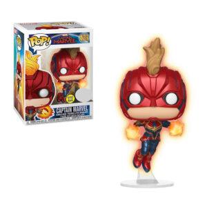 Muñeco de Captain Marvel Funko flying