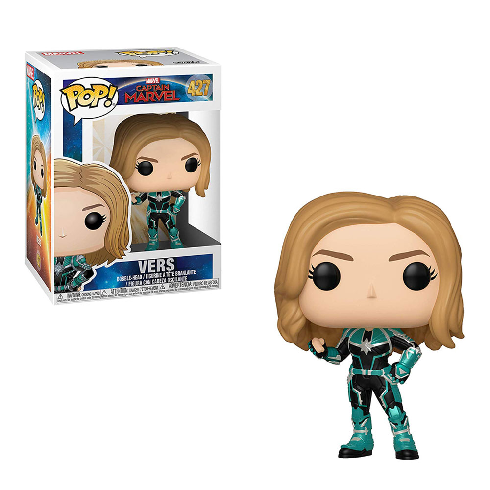 Muñeco de Captain Marvel Vers