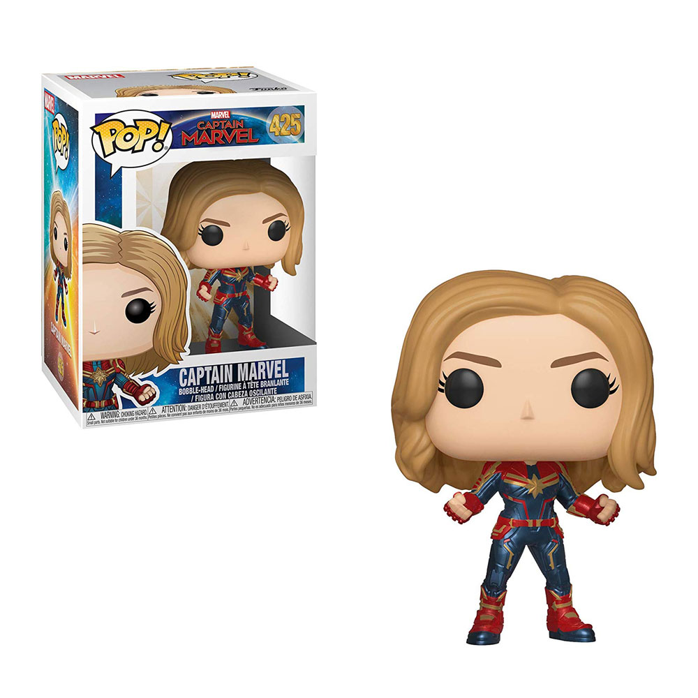 Muñeco de Captain Marvel Funko Pop