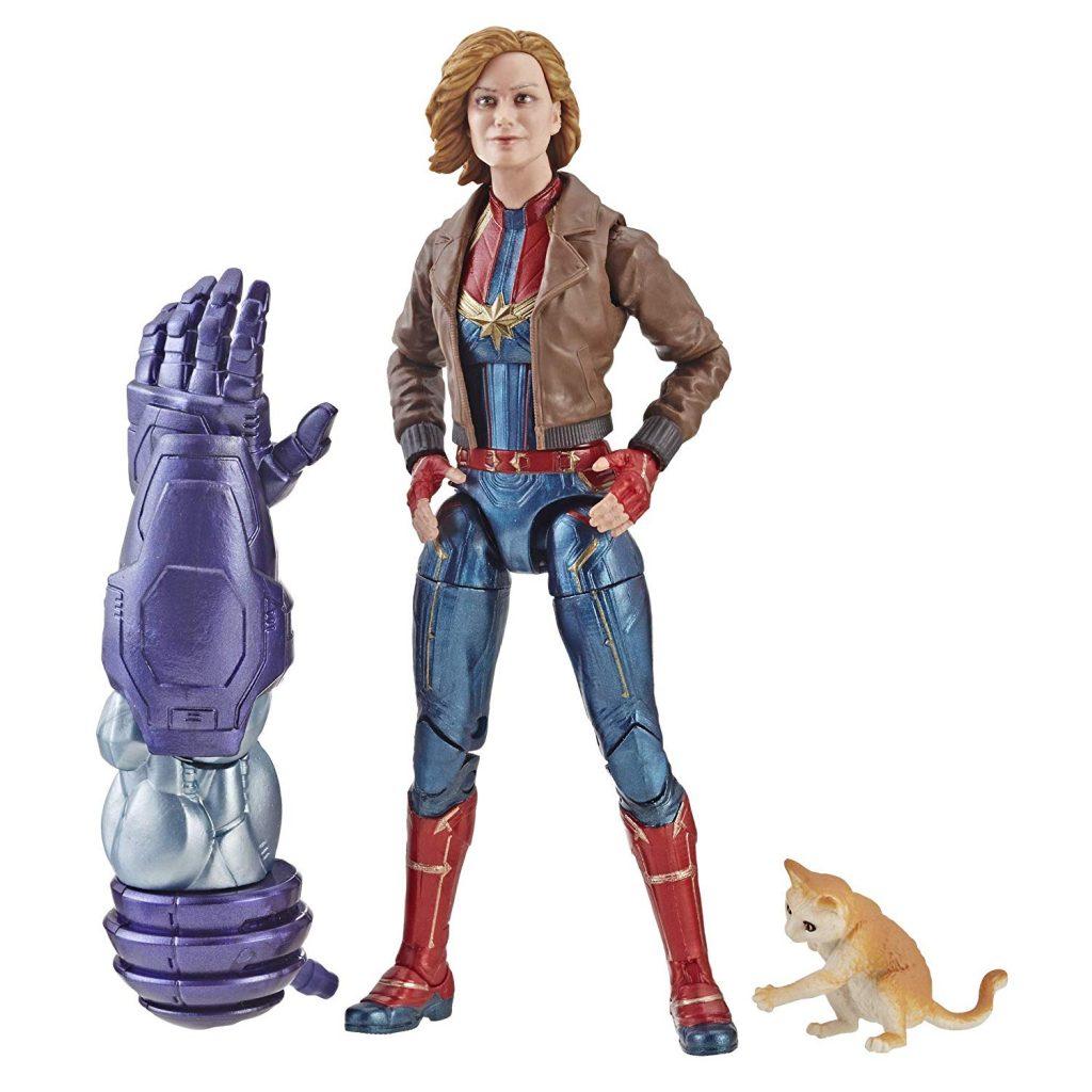 Muñeco Captain Marvel de Marvel Legends