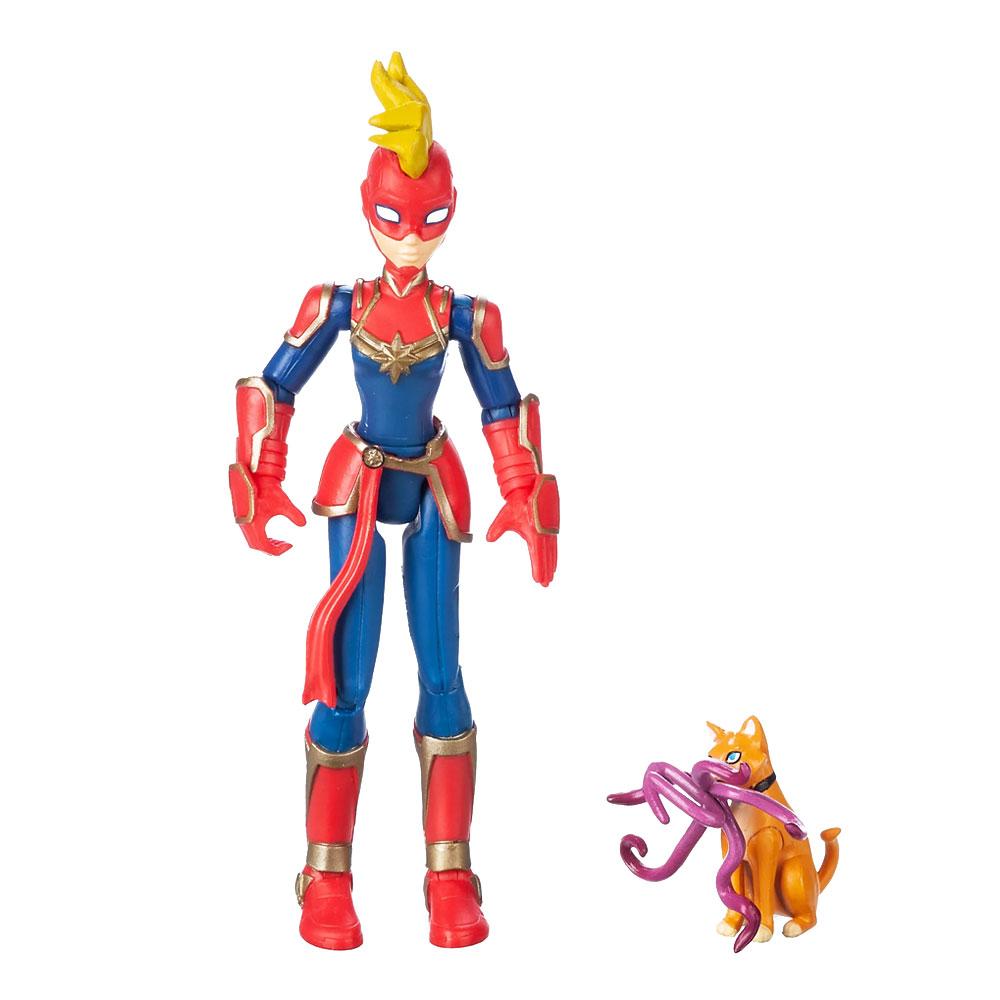 Muñeco de Captain Marvel Toybox