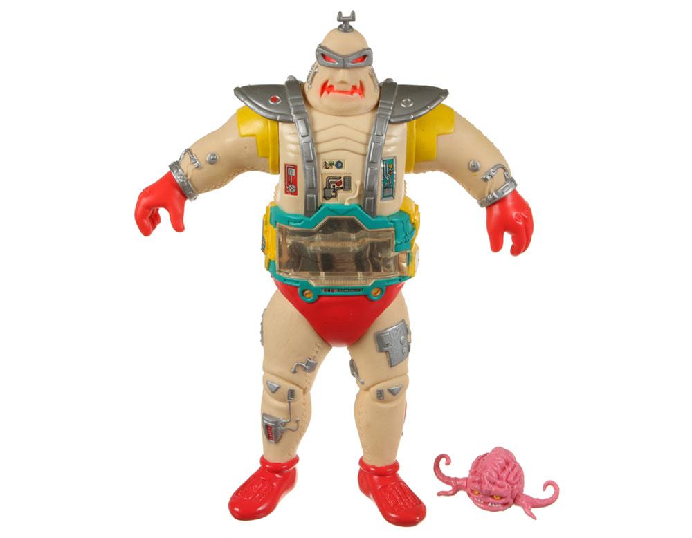 Muñeco cuerpo androide de Krang TMNT
