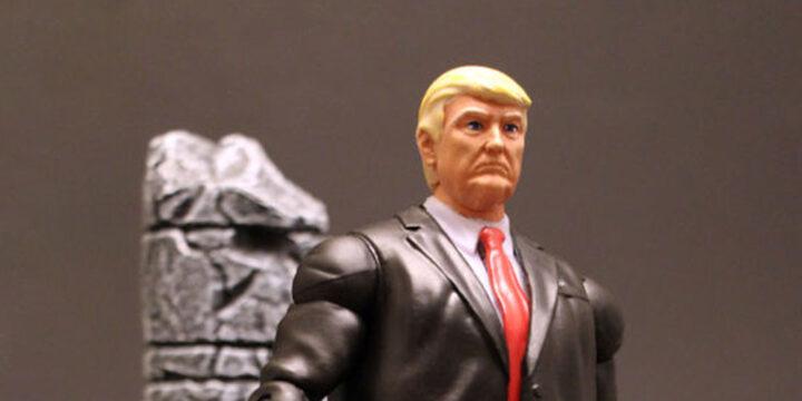 Muñeco de Donald Trump