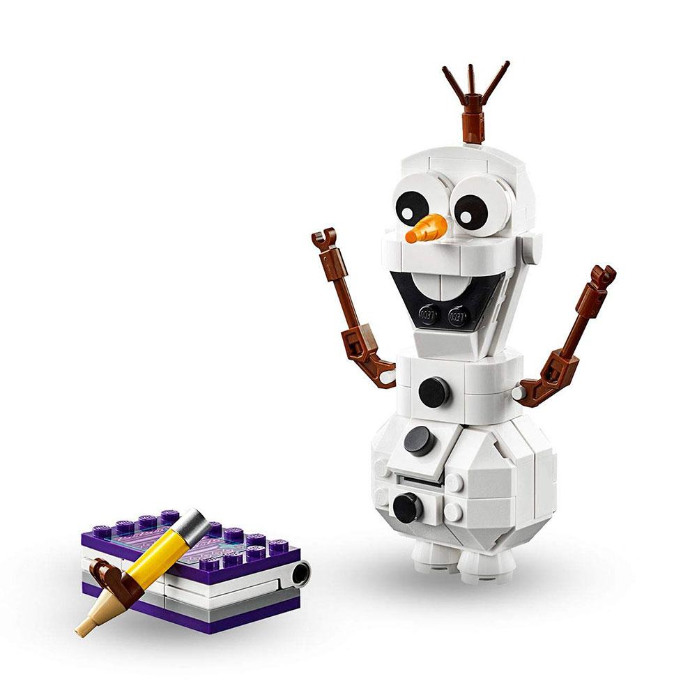 Muñeco de nieve Olaf LEGO