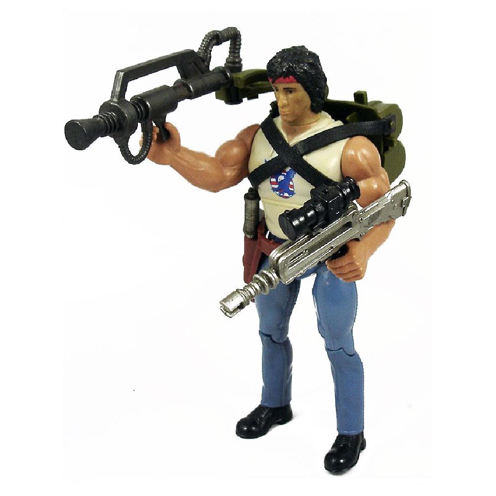 Muñeco de Rambo Fire-Power