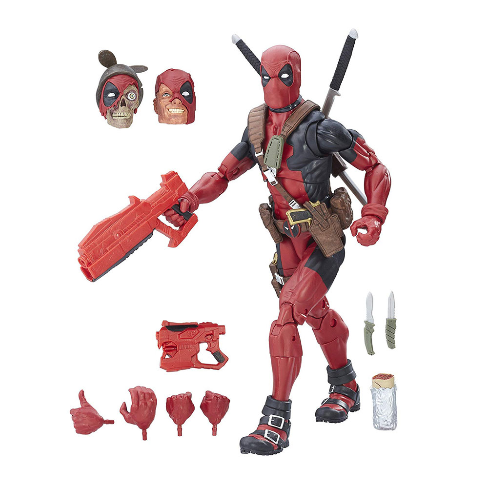 Muñeco de Deadpool Marvel Legends 12 pulgadas