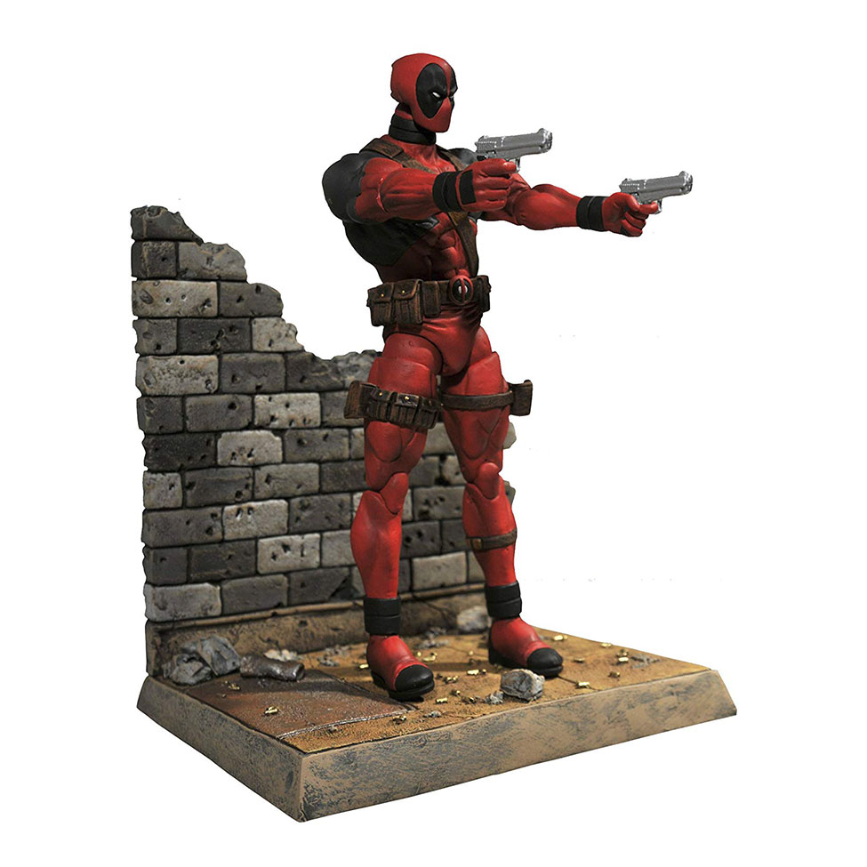 Muñeco de Deadpool de Marvel Select
