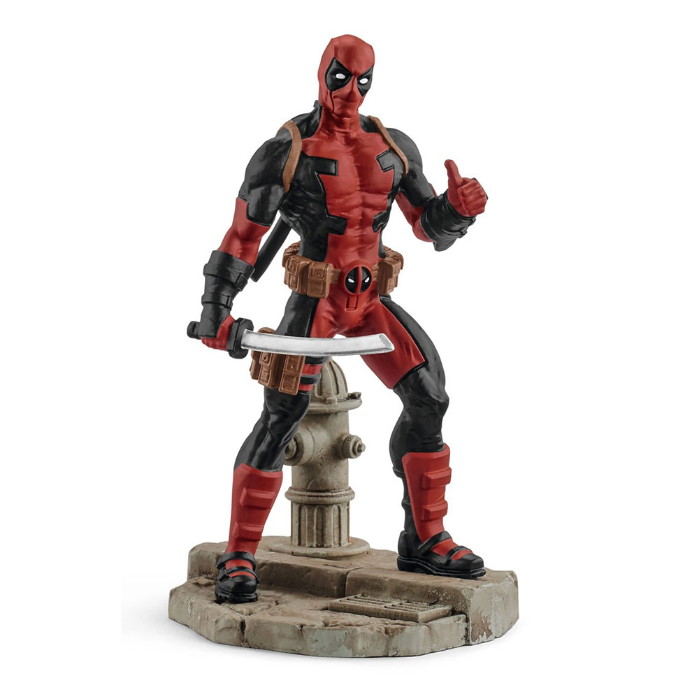 Figura de Deadpool Schleich Marvel