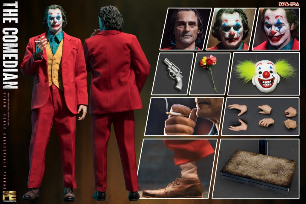 Muñeco del Joker Joaquin Phoenix The Comedian