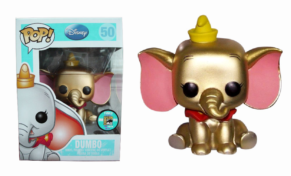 Muñeco Dumbo Gold de Funko Pop