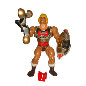 Muñeco Flying Fist He-Man MOTU vintage