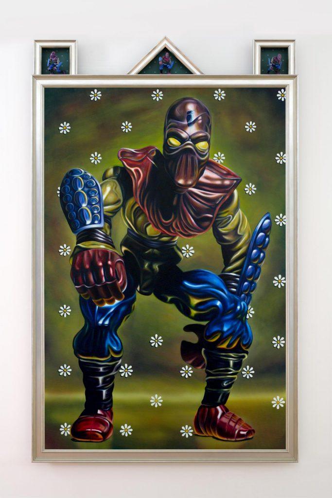 Muñeco Foot Soldier de Las Tortugas Ninja, por Robert Burden