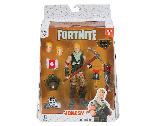 Muñeco de Fortnite Jazwares Legendary Series Jonesy