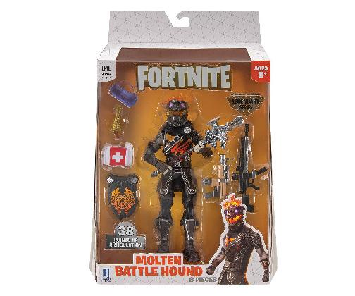 Muñeco de Fortnite Jazwares Legendary Series Molten Battle Hound