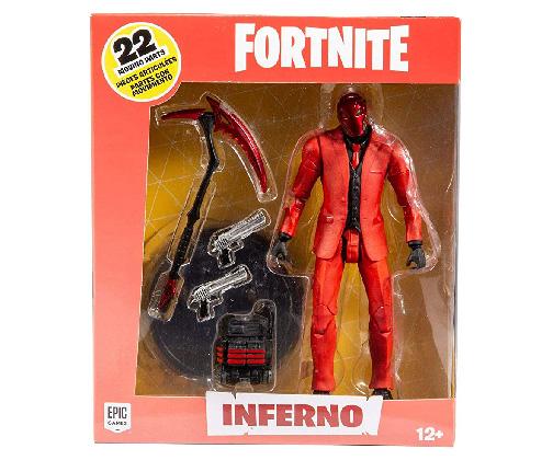 Muñeco de Fortnite McFarlane Inferno