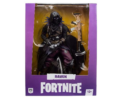 Muñeco de Fortnite McFarlane Raven Deluxe