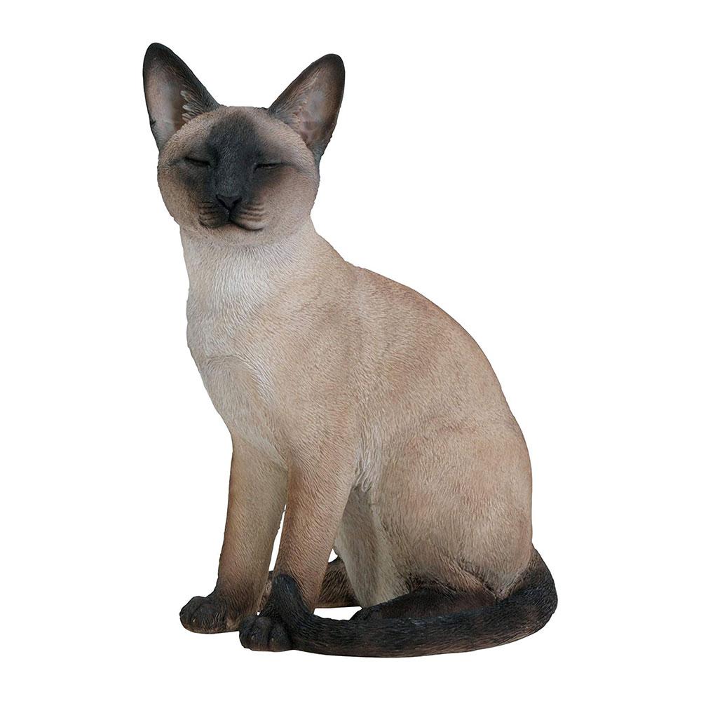 Muñecos realistas de animales: Gato Siamés