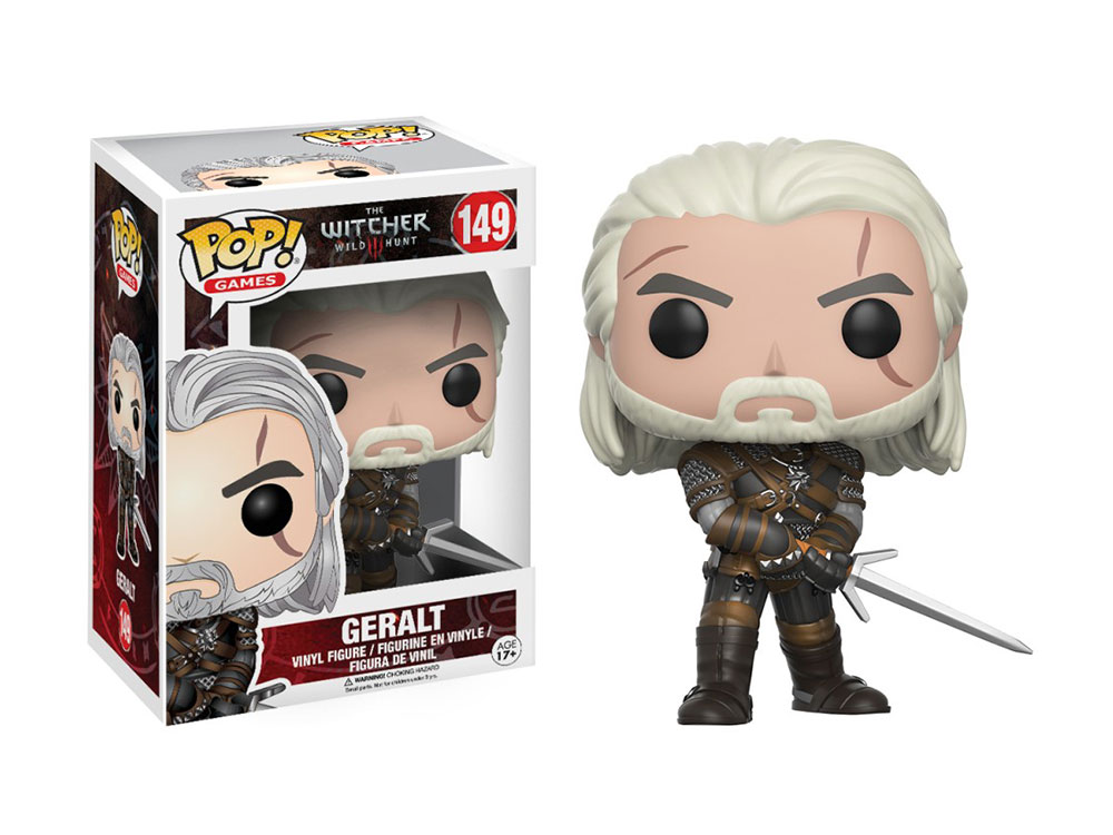 Muñeco Geralt The Witcher Funko Pop