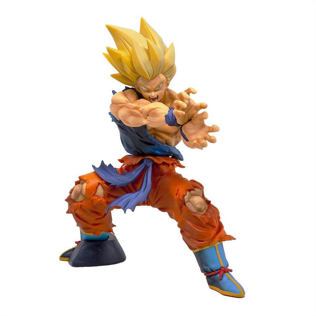 Muñeco de Goku Super Saiyan Kamehameha