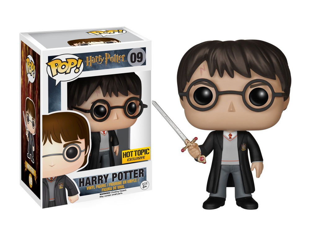 Muñeco de Harry Potter con Espada de Griffindor