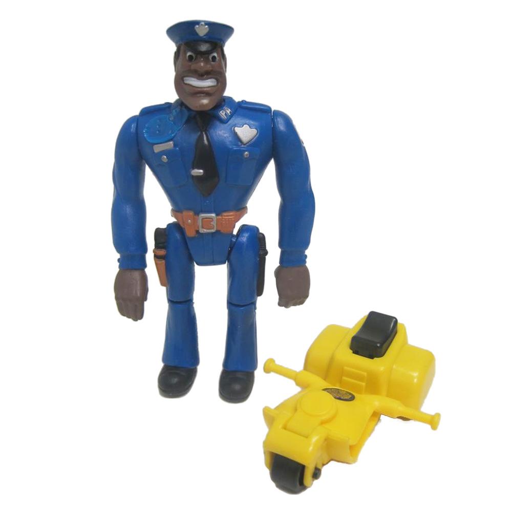 Muñeco de Moses Hightower Locademia de Policía