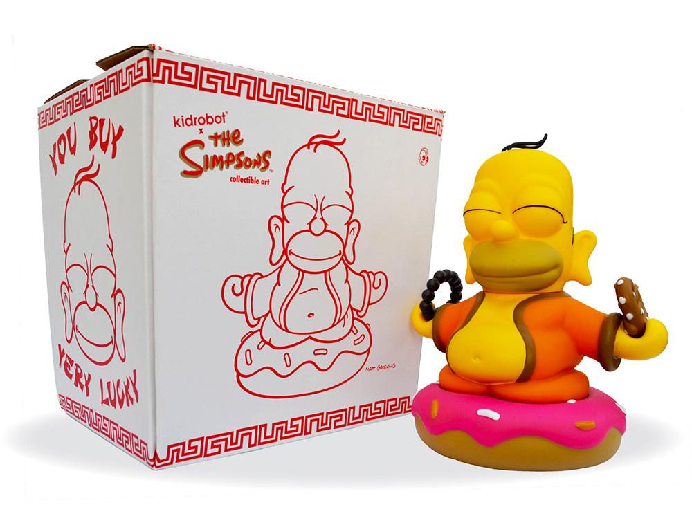 Muñeco de Homero Simpson Buda Los Simpsons Kidrobot