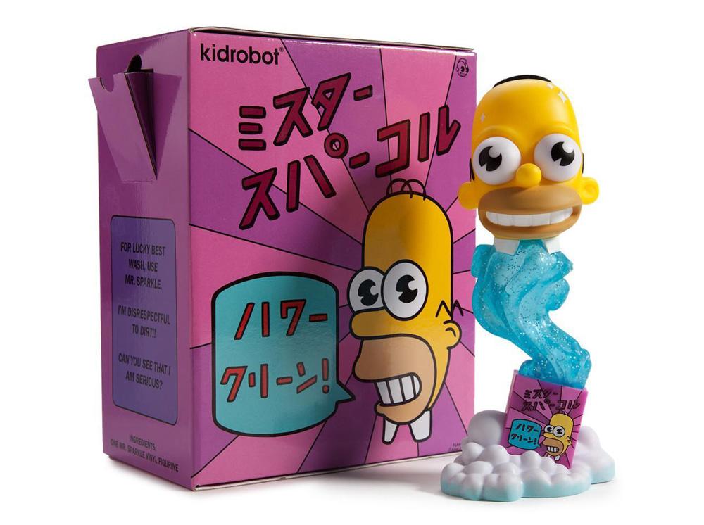 Muñeco de Homero Simpson Mr. Chispa Los Simpsons Kidrobot