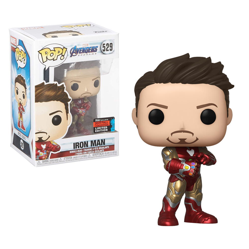 Muñeco Iron Man Endgame Funko Pop