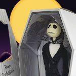 Muñeco de Jack Skellington - El Extraño Mundo de Jack
