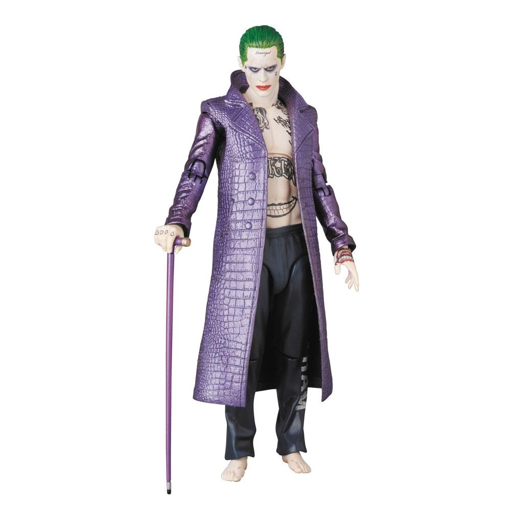 Muñeco Joker Jared Leto de MAFEX Medicom