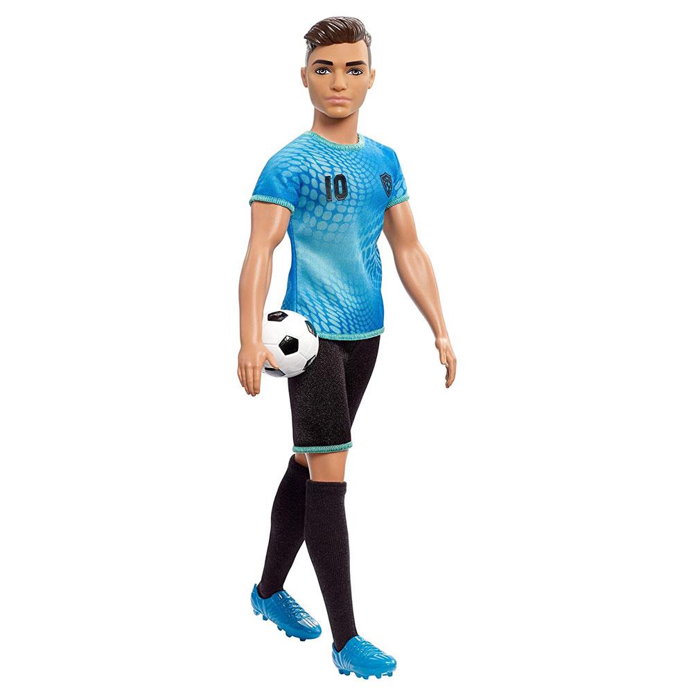 Muñeco de Ken futbolista