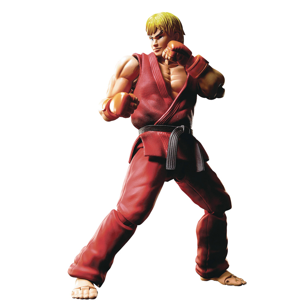 Muñeco de Ken Street Fighter S.H. Figuarts Bandai