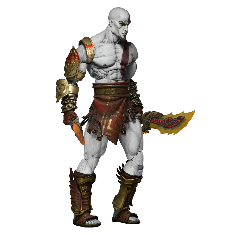 Muñeco Ultimate Kratos de God of War III NECA