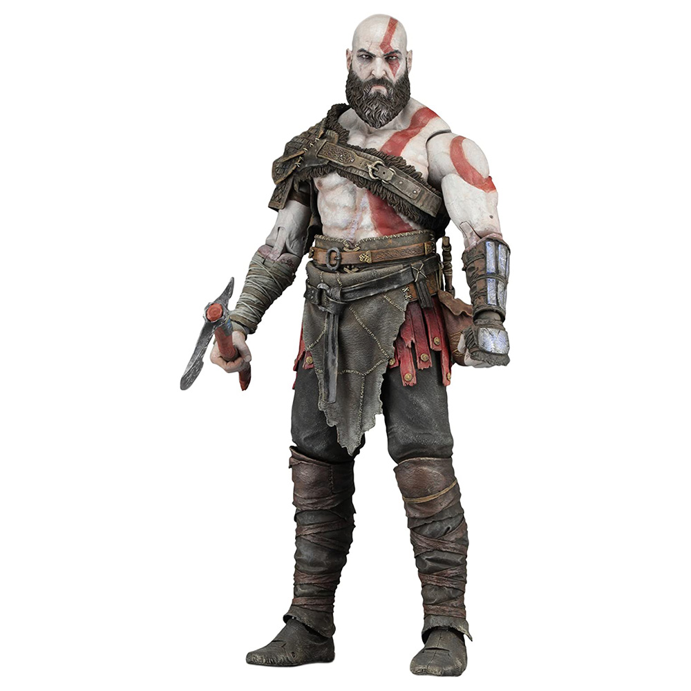 Muñeco de Kratos de God of War NECA