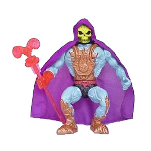 Muñeco Laser Light Skeletor He-Man vintage