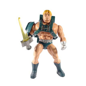 Muñeco Laser Power He-Man vintage