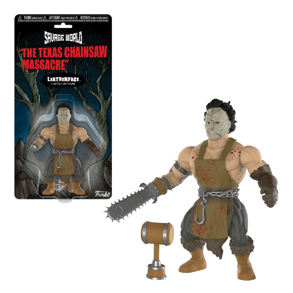 Muñeco de Leatherface Savage World